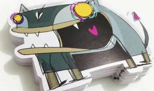 Stickers - Cliente Rafo Castro